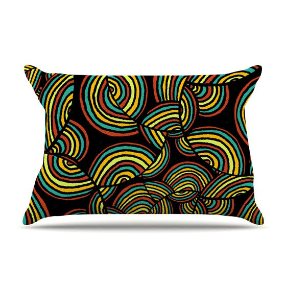 "Pom Graphic Design ""Infinite Depth"" Pillow Sham - KESS InHouse"