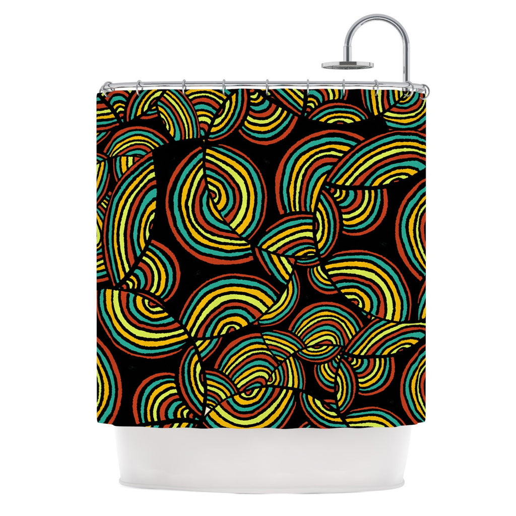 "Pom Graphic Design ""Infinite Depth"" Shower Curtain - KESS InHouse"