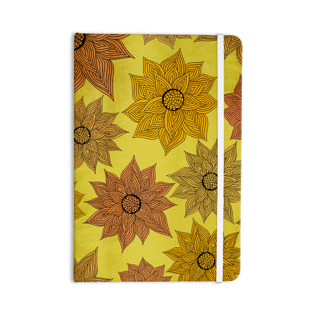 "Pom Graphic Design ""It's Raining Flowers"" Everything Notebook - KESS InHouse  - 1"