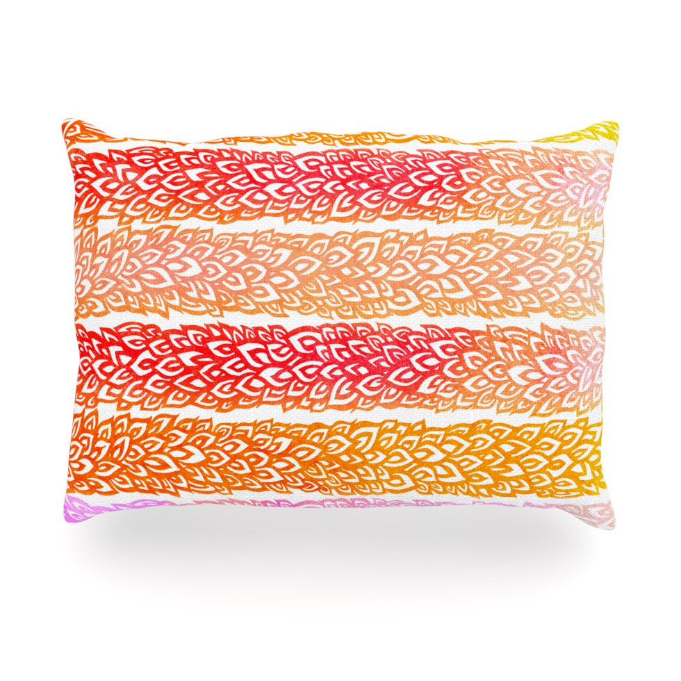 "Pom Graphic Design ""Leafs from Paradise"" Oblong Pillow - KESS InHouse"