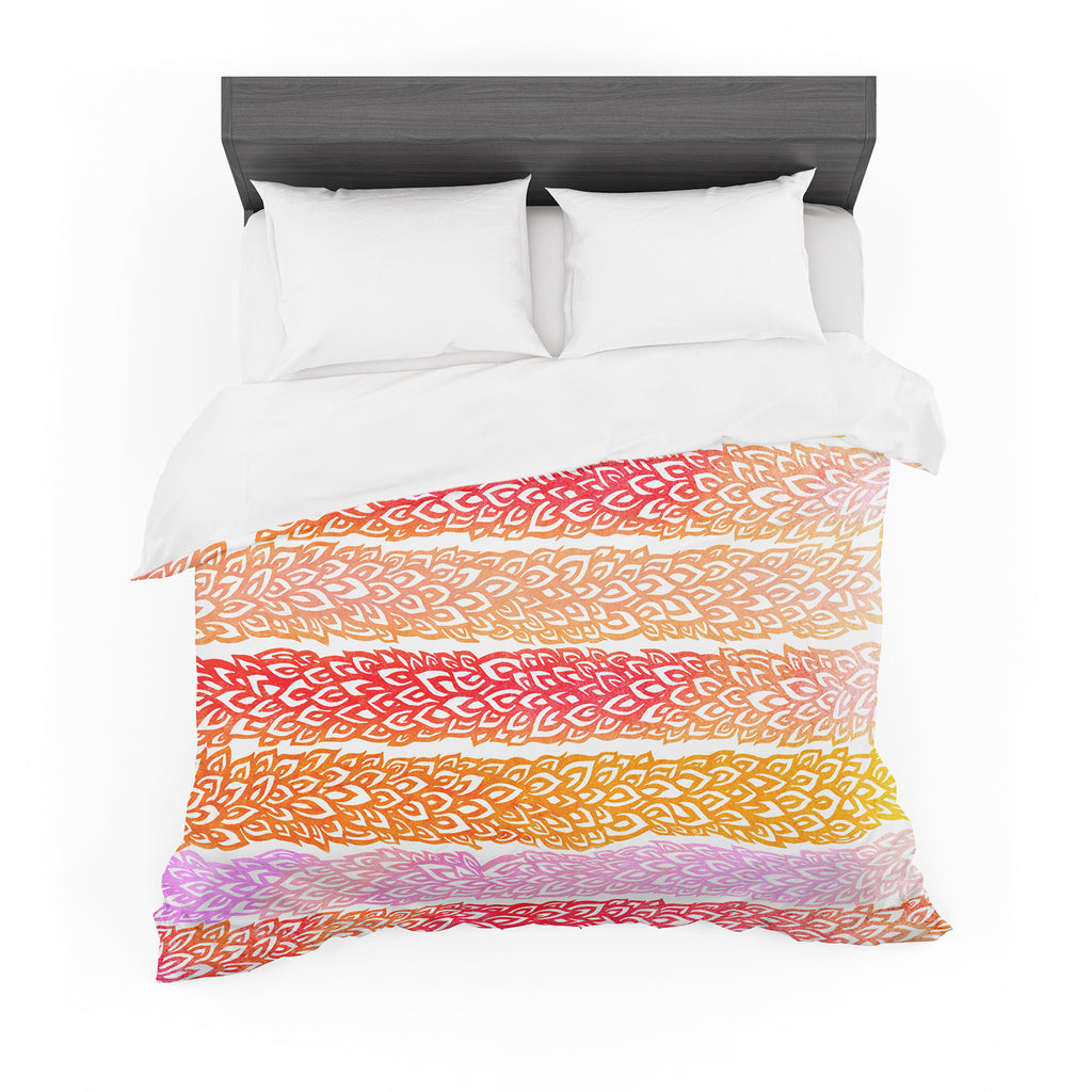 "Pom Graphic Design ""Leafs from Paradise"" Cotton Duvet"