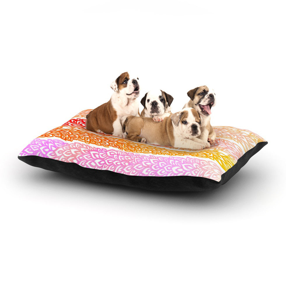 "Pom Graphic Design ""Leafs from Paradise"" Dog Bed - KESS InHouse  - 1"
