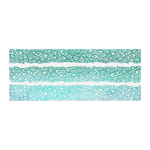 "Pom Graphic Design ""Leafs from Paradise II"" Bed Runner - KESS InHouse"