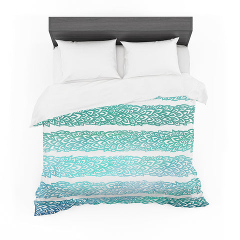 "Pom Graphic Design ""Leafs from Paradise II"" Cotton Duvet"