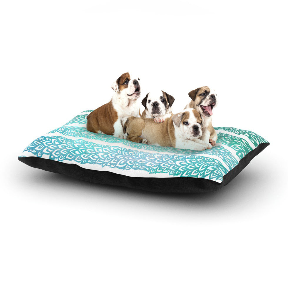 "Pom Graphic Design ""Leafs from Paradise II"" Dog Bed - KESS InHouse  - 1"