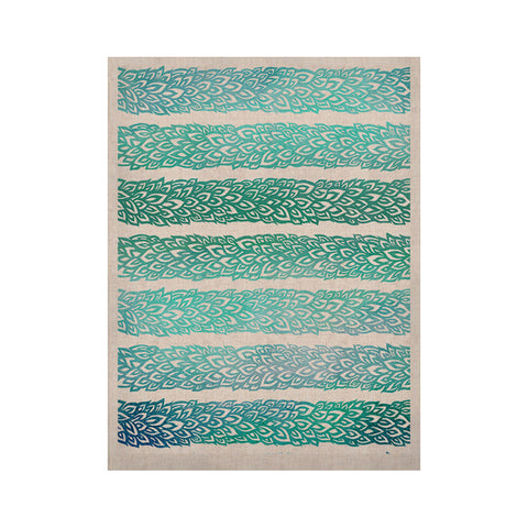 "Pom Graphic Design ""Leafs from Paradise II"" KESS Naturals Canvas (Frame not Included) - KESS InHouse  - 1"