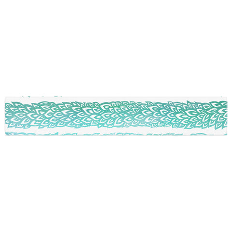 "Pom Graphic Design ""Leafs from Paradise II"" Table Runner - KESS InHouse  - 1"