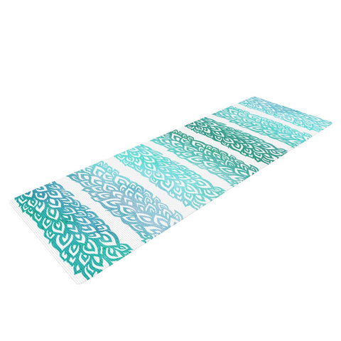 "Pom Graphic Design ""Leafs from Paradise II"" Yoga Mat - KESS InHouse  - 1"