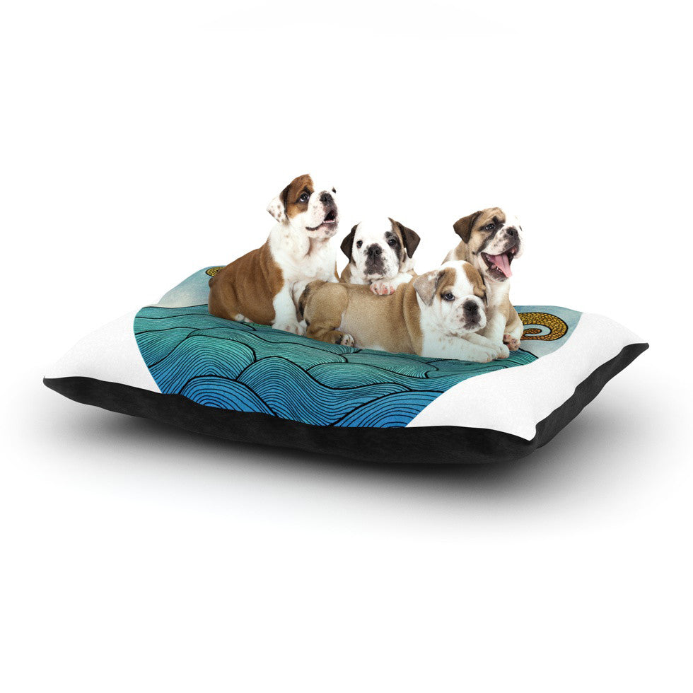 "Pom Graphic Design ""Oceania"" Dog Bed - KESS InHouse  - 1"