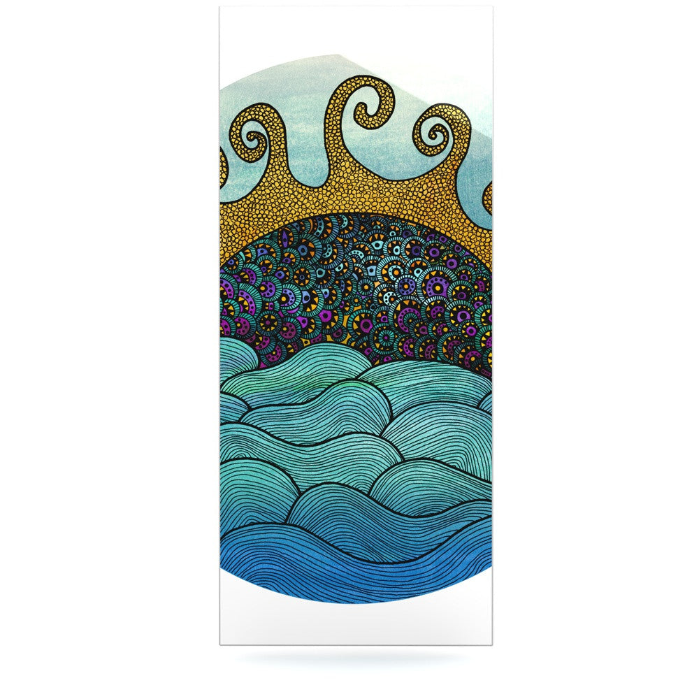 "Pom Graphic Design ""Oceania"" Luxe Rectangle Panel - KESS InHouse  - 1"
