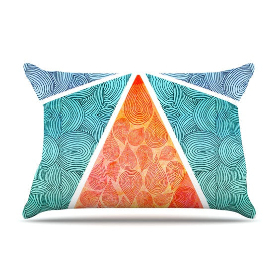 "Pom Graphic Design ""Pyramids of Giza"" Pillow Sham - KESS InHouse"