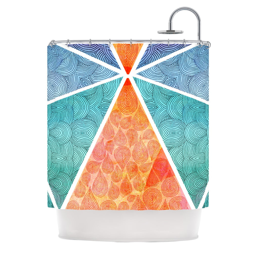 "Pom Graphic Design ""Pyramids of Giza"" Shower Curtain - KESS InHouse"