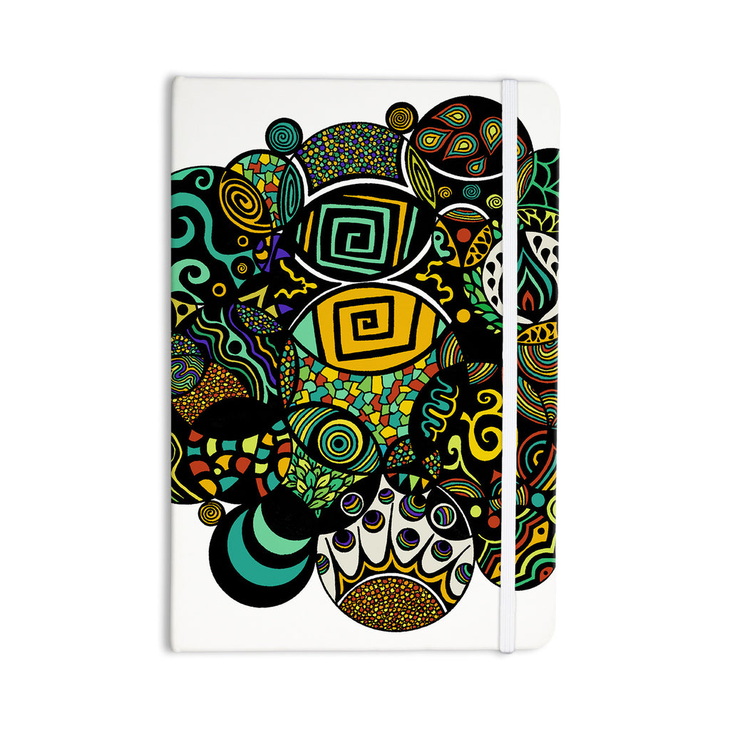 "Pom Graphic Design ""Multicolor Life"" Everything Notebook - KESS InHouse  - 1"