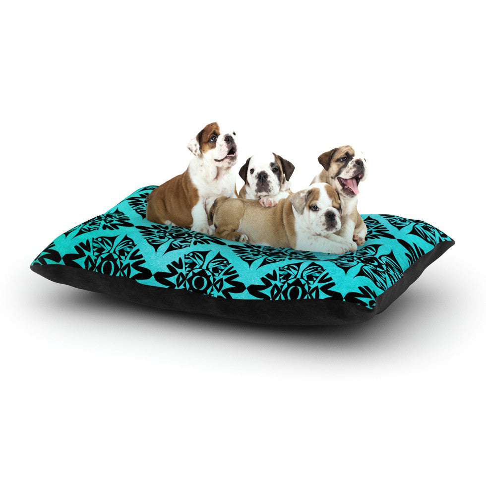 "Pom Graphic Design ""Eye Symmetry Pattern"" Dog Bed - KESS InHouse  - 1"