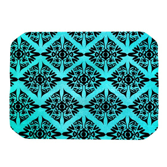 "Pom Graphic Design ""Eye Symmetry Pattern"" Place Mat - KESS InHouse"