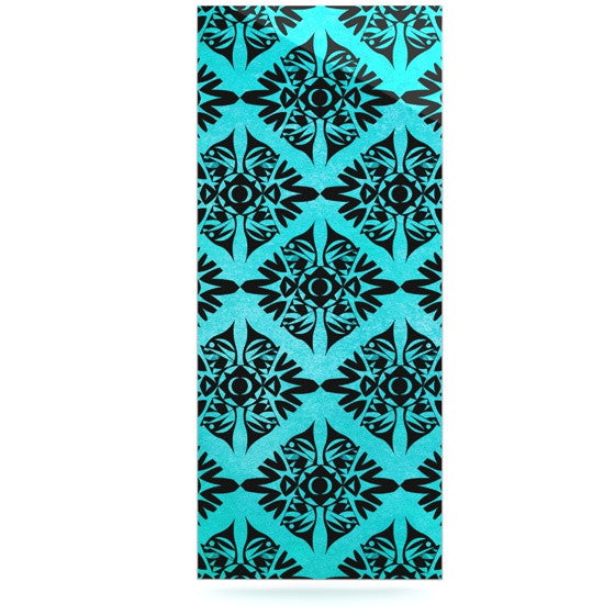 "Pom Graphic Design ""Eye Symmetry Pattern"" Luxe Rectangle Panel - KESS InHouse  - 1"