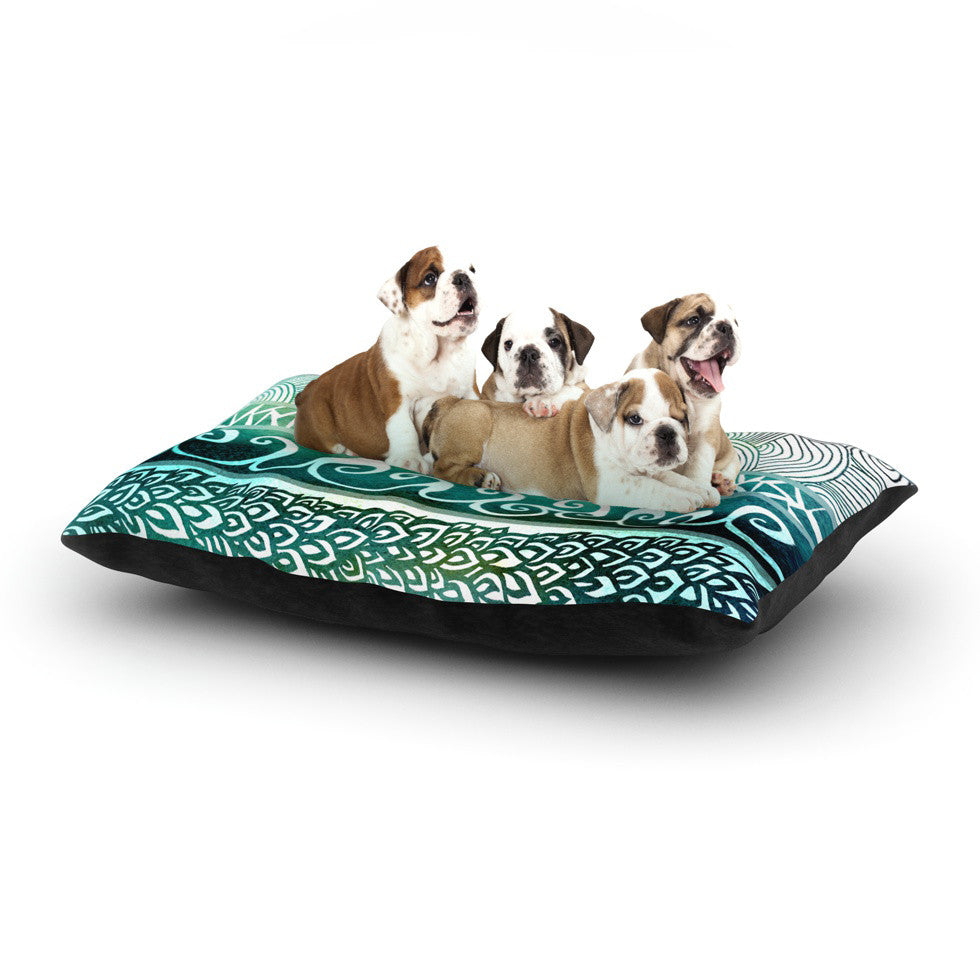 "Pom Graphic Design ""Dreamy Tribal"" Dog Bed - KESS InHouse  - 1"