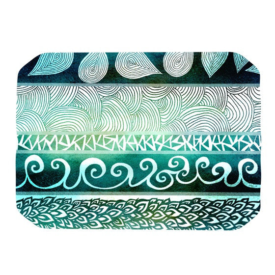 "Pom Graphic Design ""Dreamy Tribal"" Place Mat - KESS InHouse"
