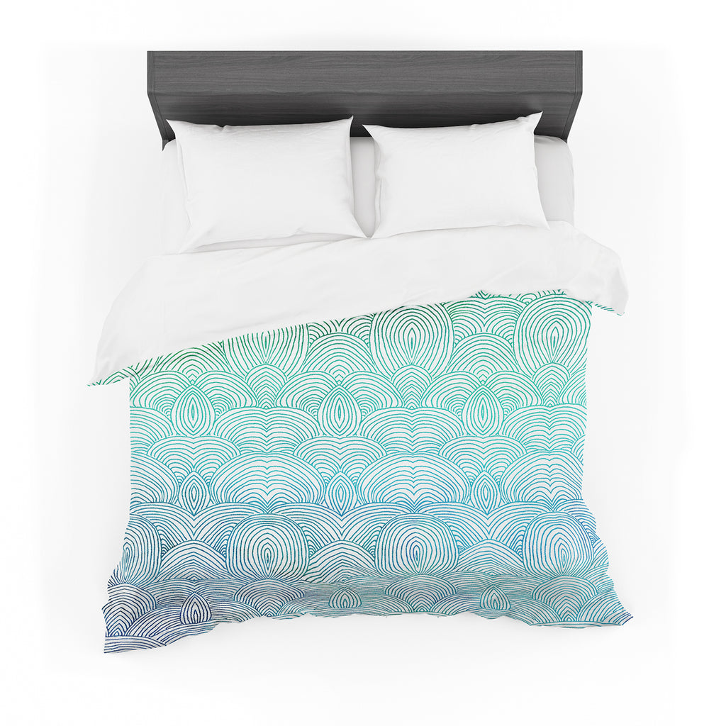 "Pom Graphic Design ""Clouds in the Sky"" Cotton Duvet"