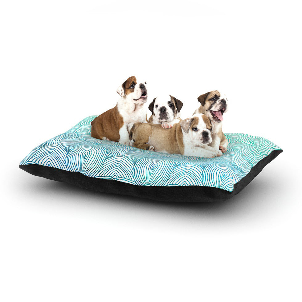 "Pom Graphic Design ""Clouds in the Sky"" Dog Bed - KESS InHouse  - 1"