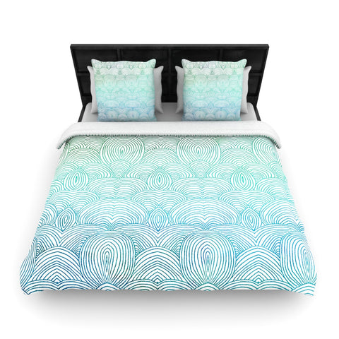 "Pom Graphic Design ""Clouds in the Sky""  Woven Duvet Cover - Outlet Item"