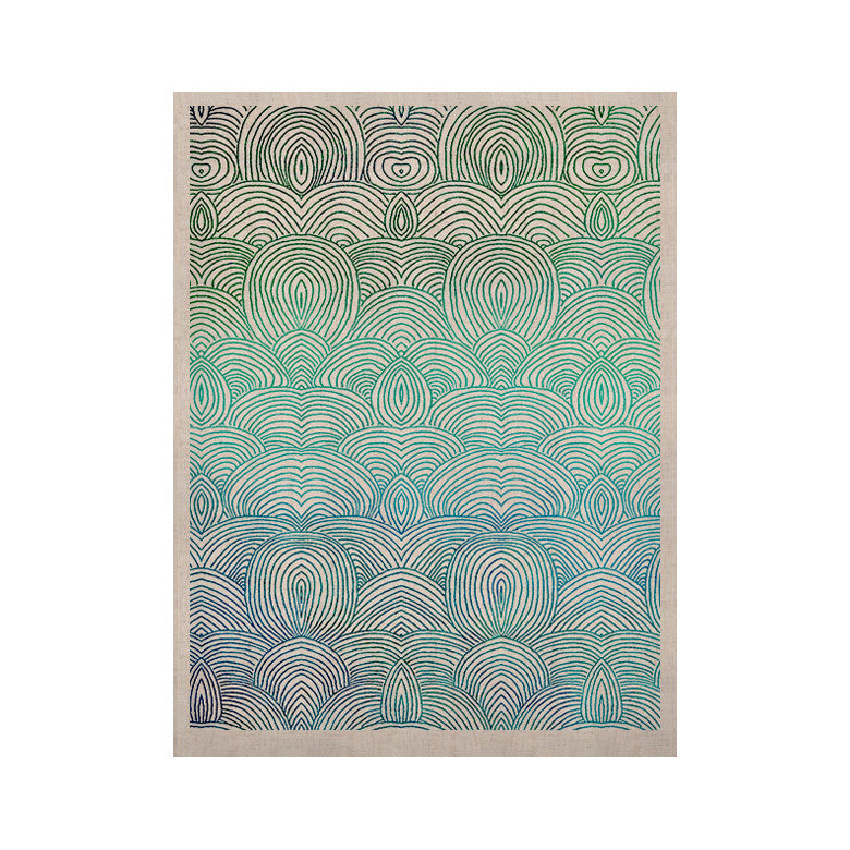 "Pom Graphic Design ""Clouds in the Sky"" KESS Naturals Canvas (Frame not Included) - KESS InHouse  - 1"