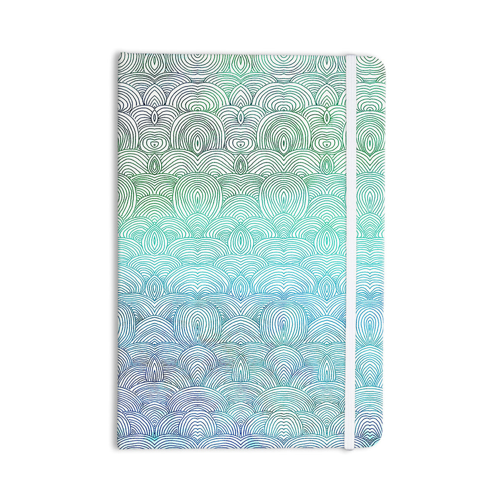 "Pom Graphic Design ""Clouds in the Sky"" Everything Notebook - KESS InHouse  - 1"