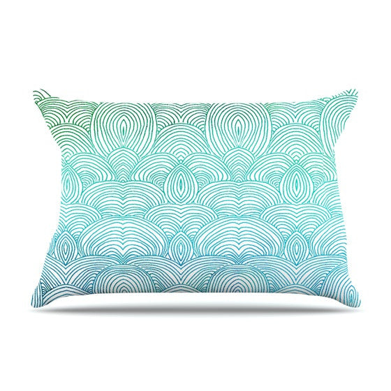 "Pom Graphic Design ""Clouds in the Sky"" Pillow Sham - KESS InHouse"