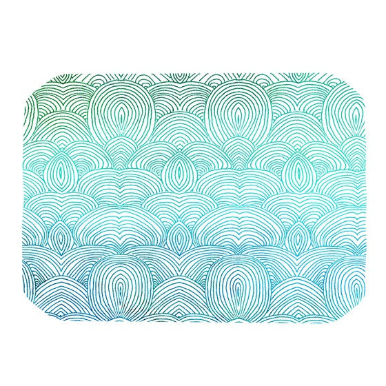 "Pom Graphic Design ""Clouds in the Sky"" Place Mat - KESS InHouse"