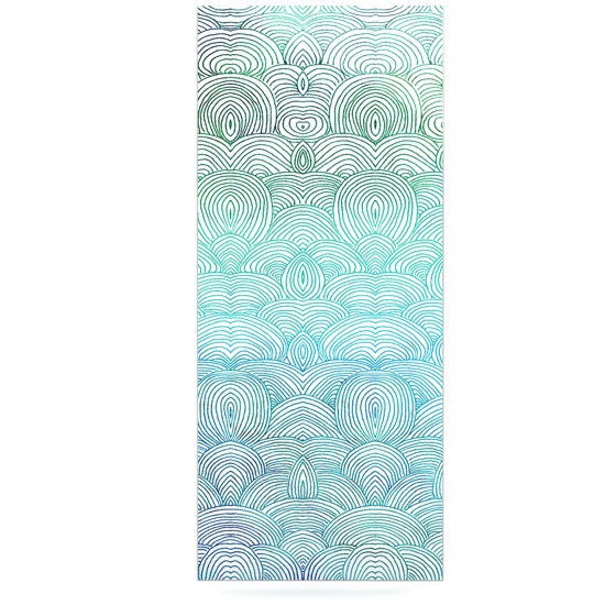 "Pom Graphic Design ""Clouds in the Sky"" Luxe Rectangle Panel - KESS InHouse  - 1"