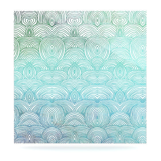 "Pom Graphic Design ""Clouds in the Sky"" Luxe Square Panel - KESS InHouse  - 1"