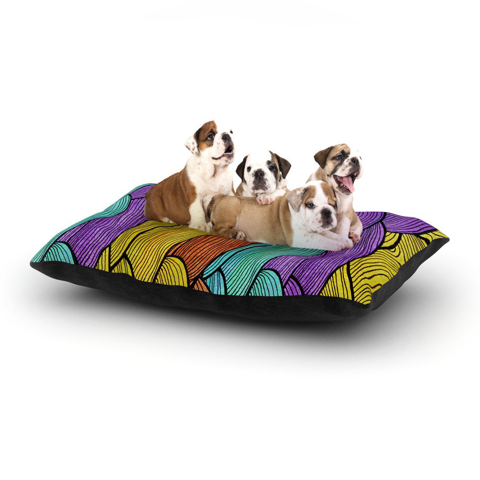 "Pom Graphic Design ""Textiles"" Dog Bed - KESS InHouse  - 1"