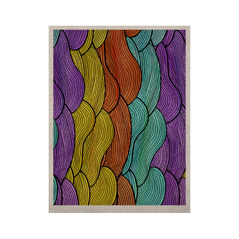 "Pom Graphic Design ""Textiles"" KESS Naturals Canvas (Frame not Included) - KESS InHouse  - 1"