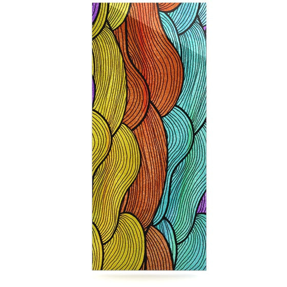 "Pom Graphic Design ""Textiles"" Luxe Rectangle Panel - KESS InHouse  - 1"