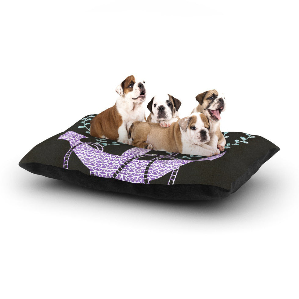"Pom Graphic Design ""Tribal Nautica I"" Dog Bed - KESS InHouse  - 1"
