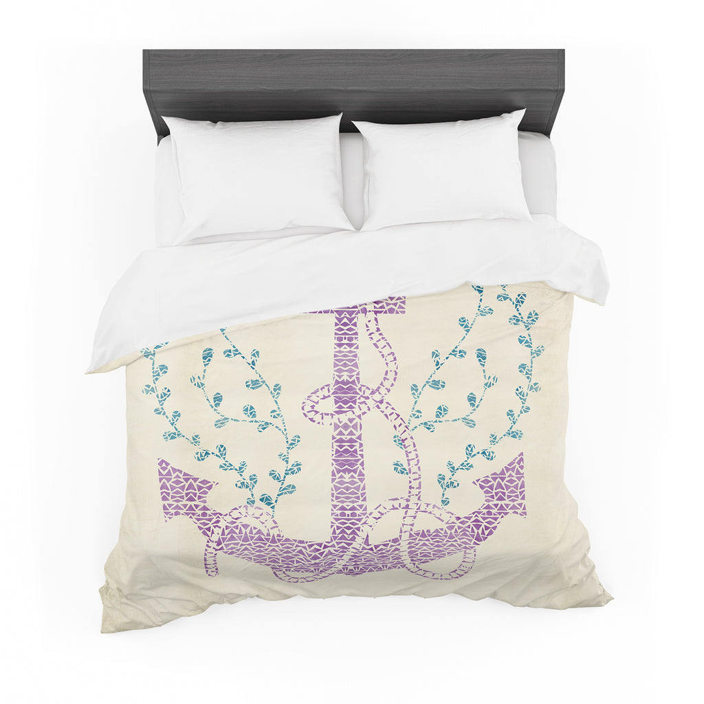 "Pom Graphic Design ""Tribal Nautica II"" Cotton Duvet"