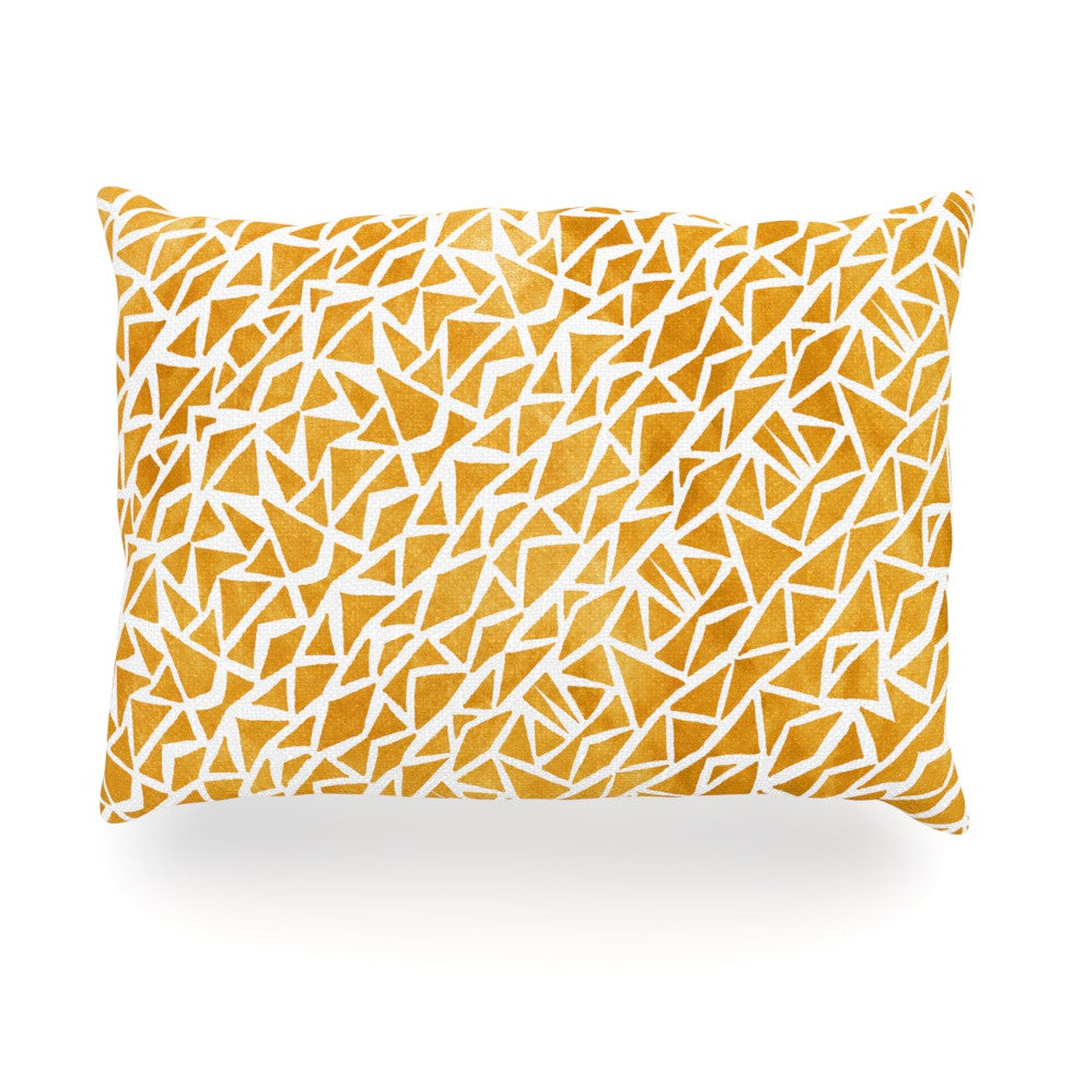"Pom Graphic Design ""Tribal Origin"" Oblong Pillow - KESS InHouse"