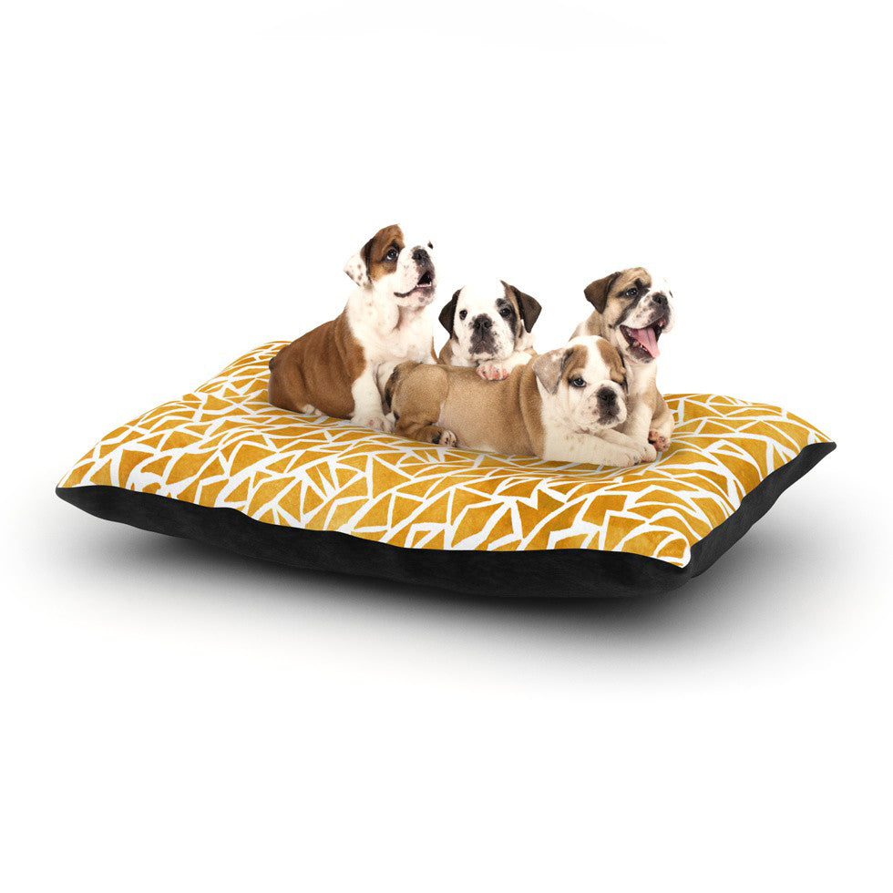 "Pom Graphic Design ""Tribal Origin"" Dog Bed - KESS InHouse  - 1"