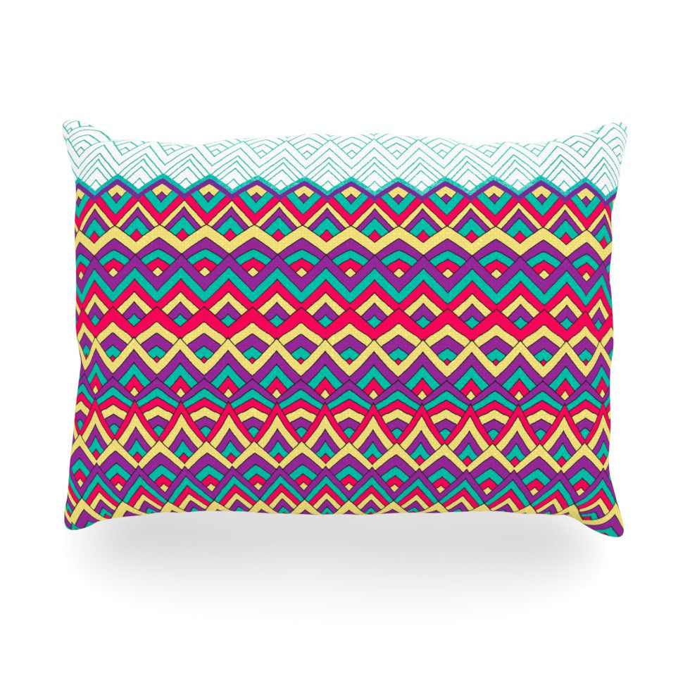"Pom Graphic Design ""Horizons"" Oblong Pillow - KESS InHouse"