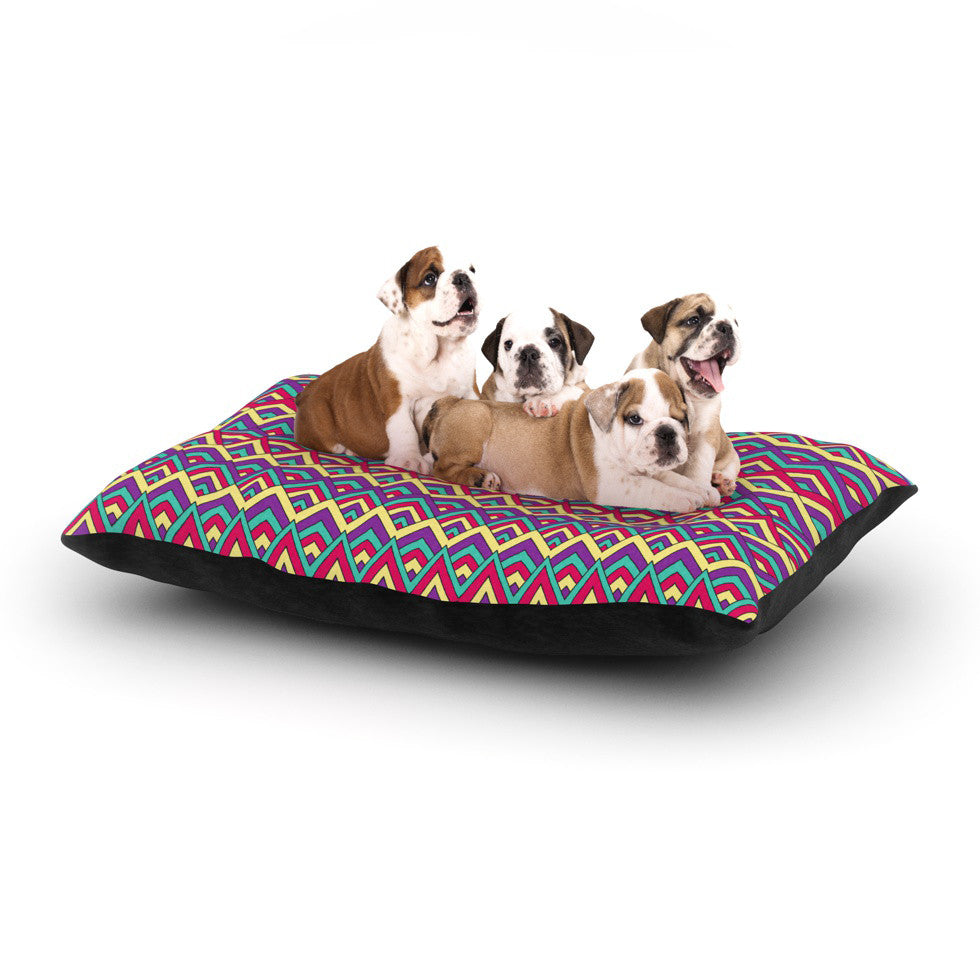 "Pom Graphic Design ""Horizons"" Dog Bed - KESS InHouse  - 1"