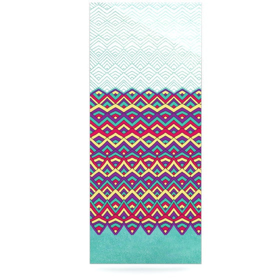 "Pom Graphic Design ""Horizons"" Luxe Rectangle Panel - KESS InHouse  - 1"