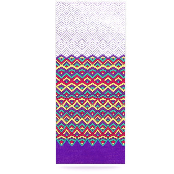 "Pom Graphic Design ""Horizons II"" Luxe Rectangle Panel - KESS InHouse  - 1"