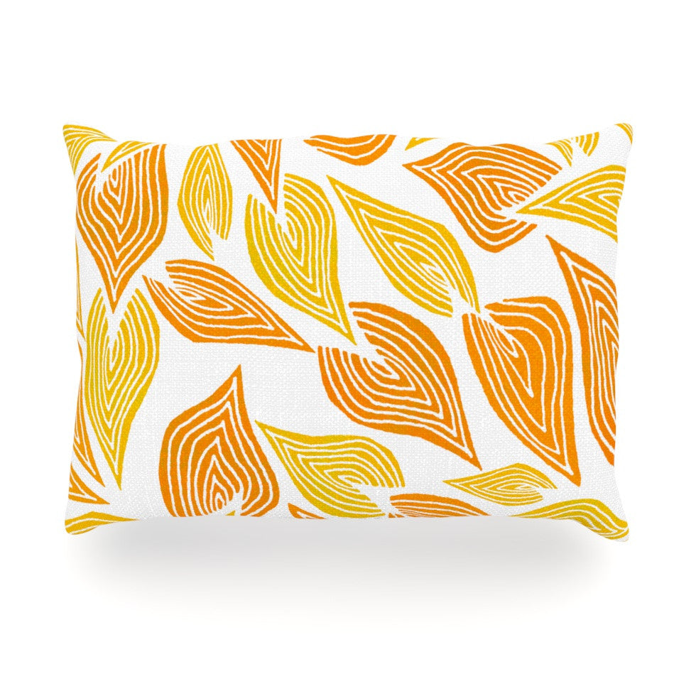 "Pom Graphic Design ""Autumn"" Oblong Pillow - KESS InHouse"