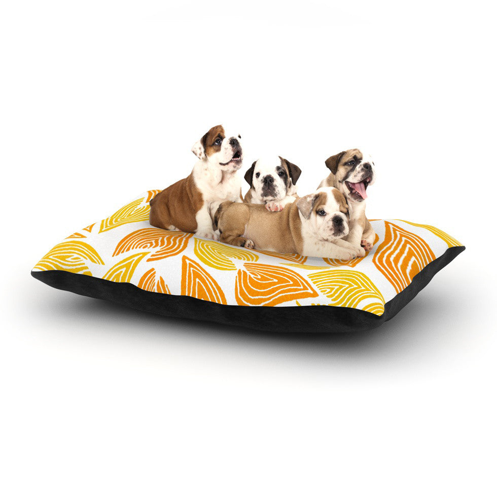 "Pom Graphic Design ""Autumn"" Dog Bed - KESS InHouse  - 1"