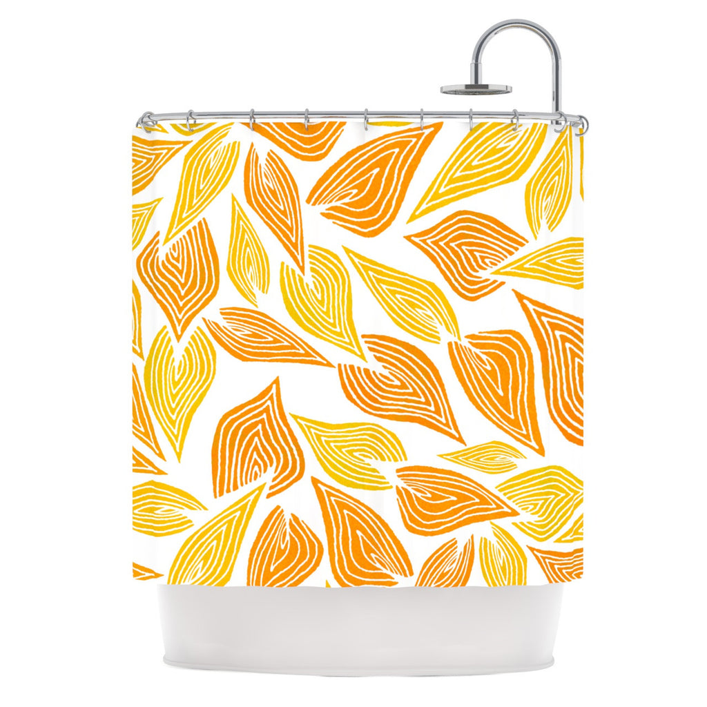"Pom Graphic Design ""Autumn"" Shower Curtain - KESS InHouse"