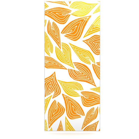 "Pom Graphic Design ""Autumn"" Luxe Rectangle Panel - KESS InHouse  - 1"