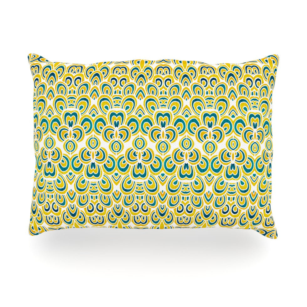 "Pom Graphic Design ""Animal Temple"" Oblong Pillow - KESS InHouse"