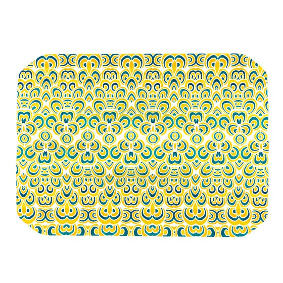 "Pom Graphic Design ""Animal Temple"" Place Mat - KESS InHouse"