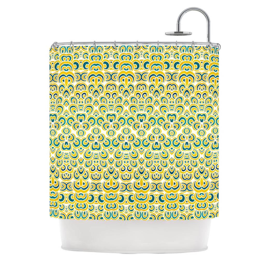 "Pom Graphic Design ""Animal Temple"" Shower Curtain - KESS InHouse"