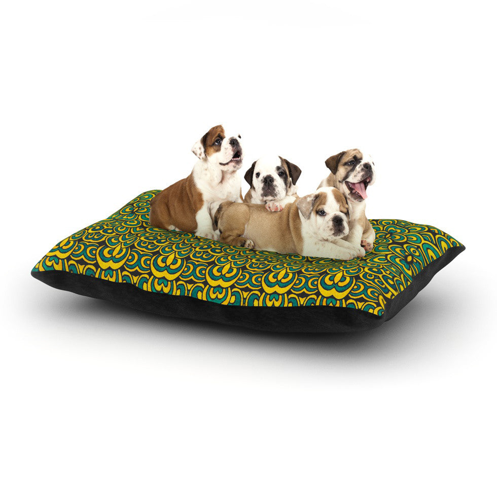 "Pom Graphic Design ""Animal Temple II"" Dog Bed - KESS InHouse  - 1"